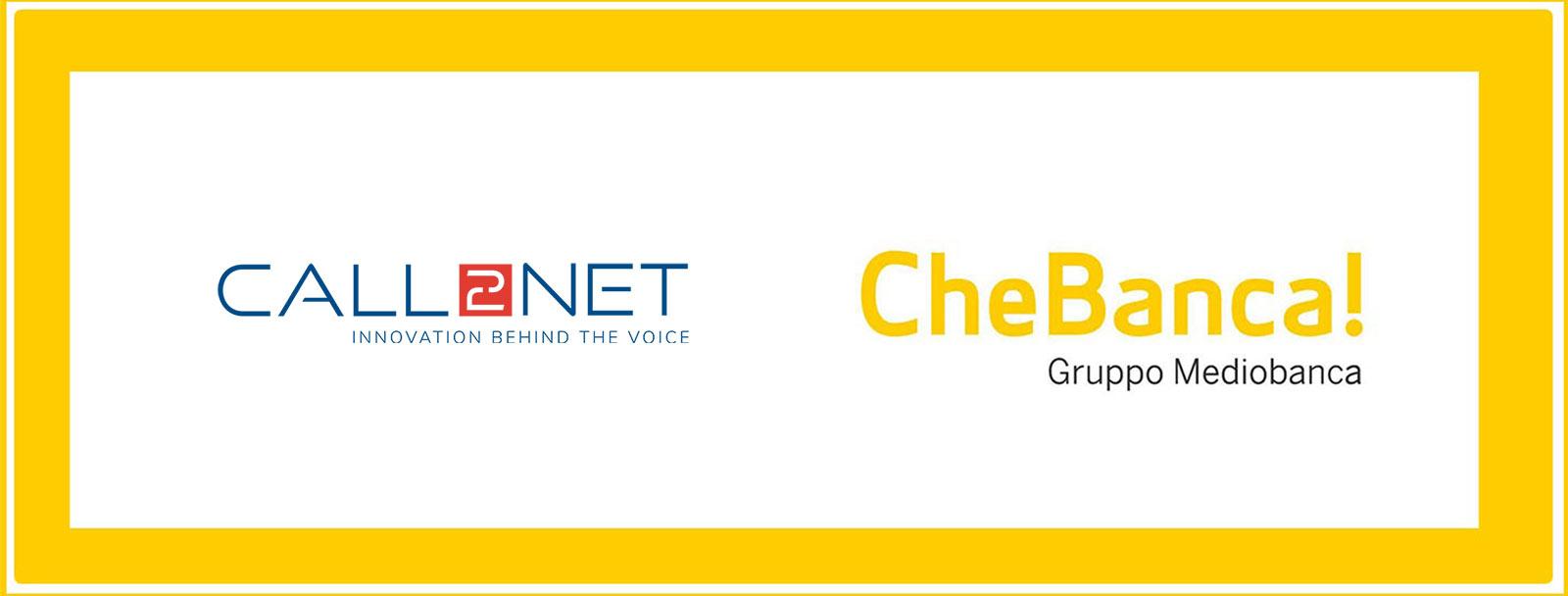 CheBanca! sceglie Call2Net
